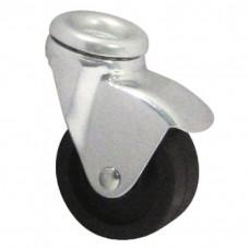 Roulettes pivotantes fixation à oeil bandage polypropylène pour charges légères type 1010 POO et 1470 POO