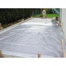 Polyane translucide batiment 3x25m 150 micron