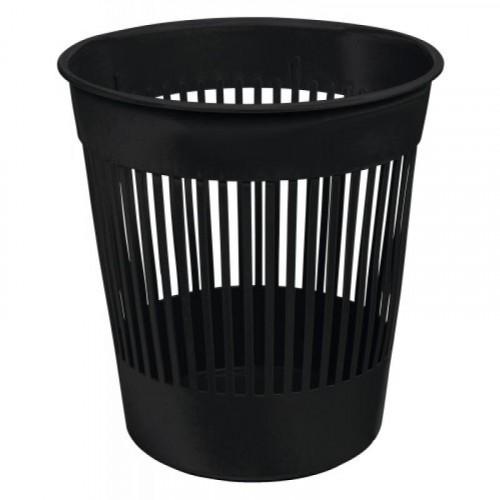 Corbeille à papier plastique ajourée 12 litres