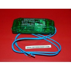 Transformateur transparent 230v 20-60 watts max