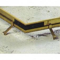 Jonction 4 points pour caillebotis caoutchouc 19 mm - BTB
