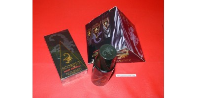 "Coffret Scorpio ""noir absolu"" parfum"