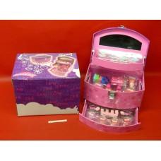 Coffret makeup Box maquillage Gloss avec accessoires
