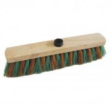 Balais d'extérieur fibres Monture bois