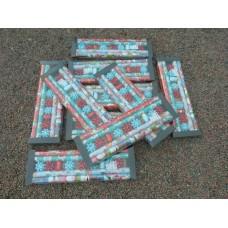 x10 sets de x4 rouleaux papier cadeau Noël+ 2 bolducs de 10m + x7 étoiles décorative