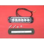 Stroboscope 6 leds DC 12 24 volts paramoteur voiture