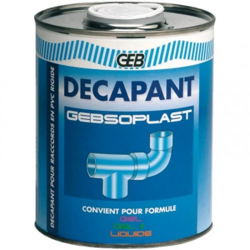 Décapant PVC Gebsoplast - GEB
