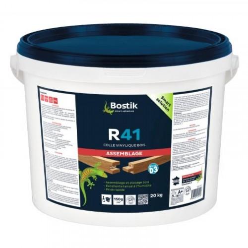 Colle vinylique R 41 prise rapide - BOSTIK