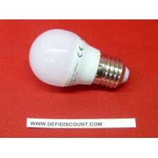 Ampoule LED E27 G45 4W 30w 4500K Thermoplastique blanc naturel