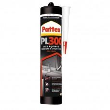 Mastics MS polymère tous matériaux Pattex PL300 cartouche 392 g - Cartouche de 390 g