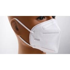 x10 Masques FFP2 KN95 protection poussière 95%