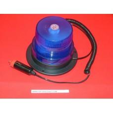 Gyrophare led bleu 12 - 24 volts magnétique ou à fixer