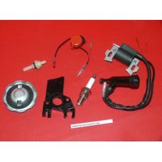 Kit 6 pièces bobine contacteur bouchon filtre bougie platine Honda GX120 GX200 GX140 GX160