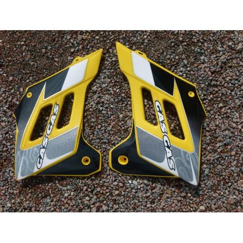 Ouïes jaune droite et gauche Gasgas BE200220012 BE200220013 vendu à la paire