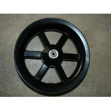 Jante aluminium arrière noir 3,5x12 scooter