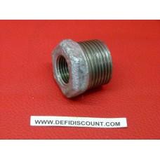 Réduction raccord galvanisé fonte M/F 20x27 - 15x21