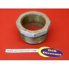 Réduction raccord galvanisé fonte M/F 50x60 - 33x42