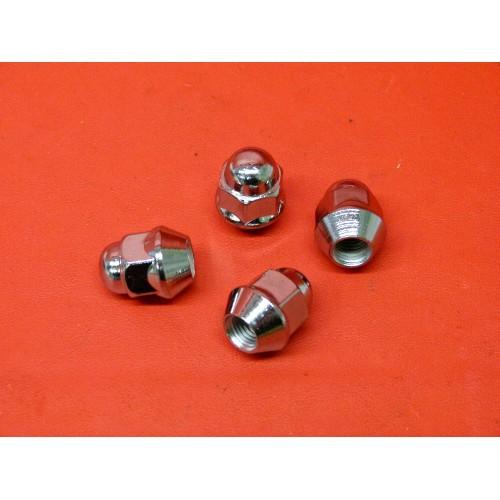 x4 Écrous boulons de roue quad M10