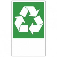 Rectangles de recyclage des déchets 330 x 200 mm