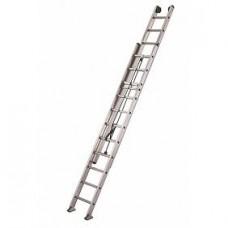 Échelle aluminium 2 plans coulisse à corde PRO XL2 2532