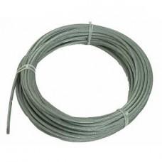 Câble acier galvanisé, âme métallique antigiratoire, 7 torons de 19 fils