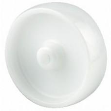 Roue polyamide blanc moyeu lisse