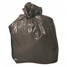 Sacs poubelles noirs 50 litres, par 25 sacs