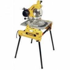 Scie à onglets à table retournable Ø 250 mm - DW 743 N