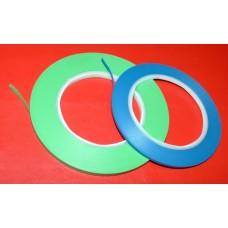 Filet de masquage bleu ou vert carrosserie