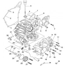 Pièces boite à vitesse RS8 4x4 Hsun quad