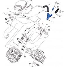 Circuit de refroidissement quad RS8 4x4 EFI
