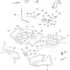 Repose pied quad RS8 4x4