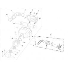 Filtre à air et pièces pour quad RS8 4x4 EFI