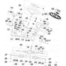 Colonne direction Hsun RS8 EFI 4X4