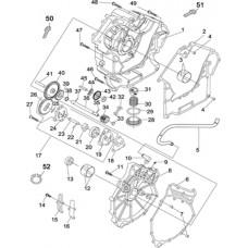Carter droit et pièces quad Hsun RS8 4x4