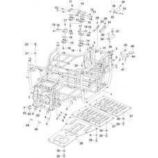 Chassis Quad pièces RS8 Hsun 4x4 EFI