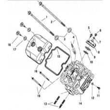 Culasse quad  RS8 Hsun pièces