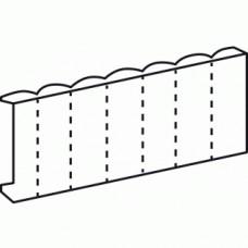 Obturateurs blancs pour tableau modulaire