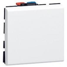 Interrupteur va-et-vient - 2 modules - 10 AX - Mosaic