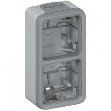 Boîtier Plexo composable 2 postes