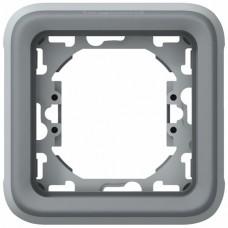 Support plaque étanche pour appareillage composable - Plexo LEGRAND