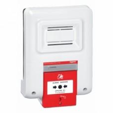 Coffret d'alarme incendie à pile - type 4