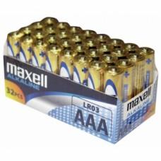 32 piles alcalines LR03 AAA