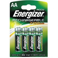 Piles rechargeables NiMh - HR06 AA - 1,2 volts