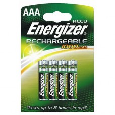 Piles rechargeables NiMh - HR03 AAA - 1,2 volts
