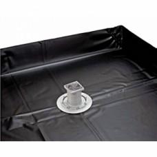 Bonde douche à carreler 120x120 cm + film d'étanchéité - Turbosol