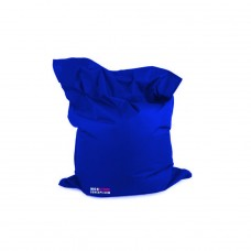 Housse pour Pouf Géant Avec Bille - Couleur Bleu