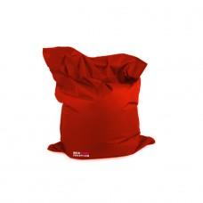Housse pour Pouf Géant Avec Bille - Couleur Rouge