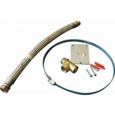 Kit de branchement & support pour vase sanitaire