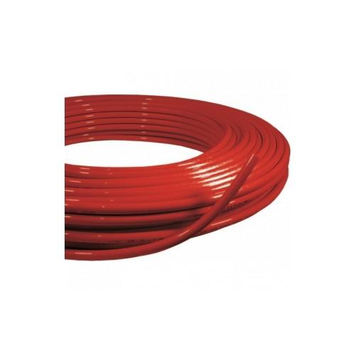 Tube multicouche PE-RT/AL/PE-RT rouge - En couronne
